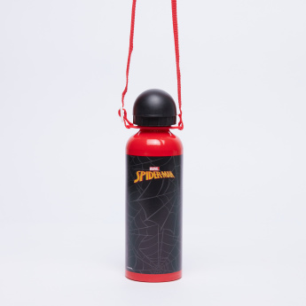 Spider-Man Printed Water Bottle with Spout - 500 ml