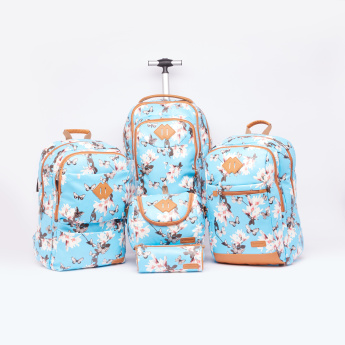 Simba Printed Backpack with Zip Closure and Adjustable Straps