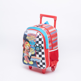 Mickey and the Roadster Racers Printed Trolley Backpack