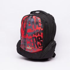 Avengers Printed Backpack with Zip Closure