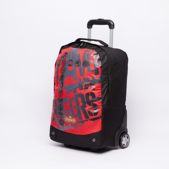 Avengers Logo Sketch Trolley Bag