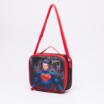 f4366be4f7 Superman Printed 3-Piece Trolley Backpack Set