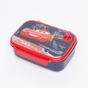 Cars Jackson Storm Printed Lunchbox with Clip Closures