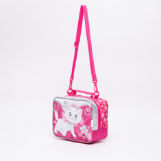 Marie the Cat Printed Lunch Bag with Zip Closure