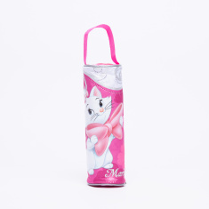 Marie the Cat Printed Pencil Case with Zip Closure