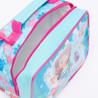 Sofia the First Printed Lunch Bag with Zip Closure