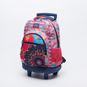 d5db935f90 Juniors Printed Trolley Backpack with pencil case and lunch bag ...