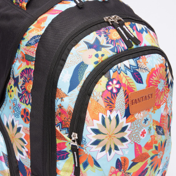 Juniors Printed Backpack and Matching Pencil Case