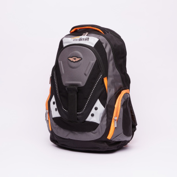 Juniors Printed Backpack with Zip Closure and Adjustable Straps