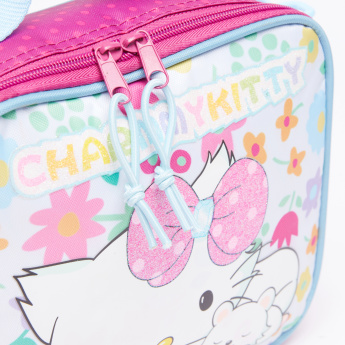 Charmmy Kitty Printed Lunch Bag with Zip Closure