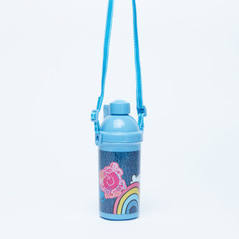 Little Men & Little Miss Printed Water Bottle