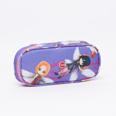 LYC SAC Any Girls Printed Oval Pencil Case