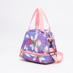 LYC SAC Any Girls Printed Lunch Bag with Zip Closure