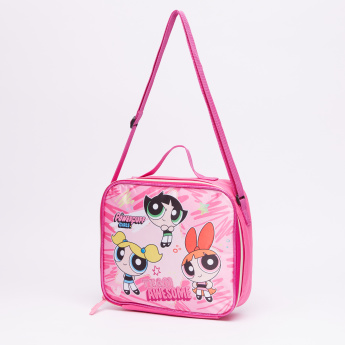 8b04825940 The Powerpuff Girls Printed Lunch Bag with Zip Closure | Multicolour |  Attractive print and high quality material