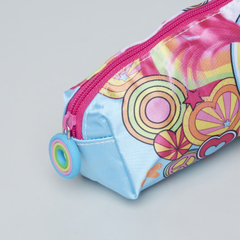Trolls Printed Pencil Case with Zip Closure