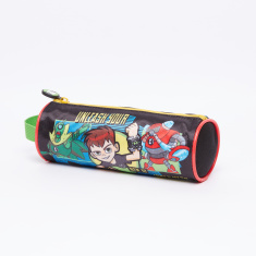 Ben 10 Printed Pencil Case with Zip Closure