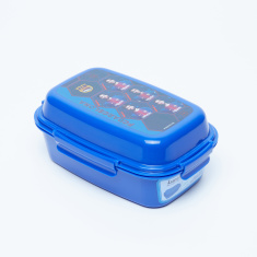 FC Barcelona Printed Lunchbox with 3 Trays and Clip Closures