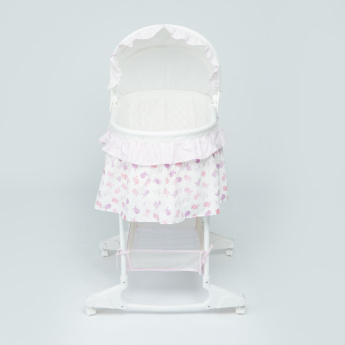 Juniors Rudy Baby Bassinet with Basket