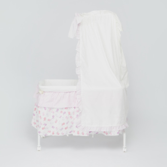 Juniors Printed Small Bed with Canopy