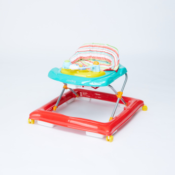 Juniors Crown Baby Walker with Interactive Toys