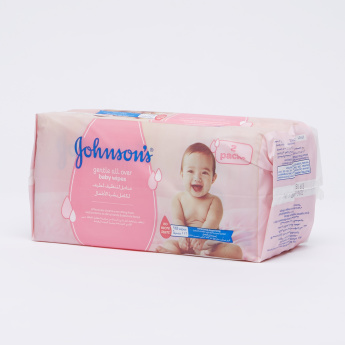 Johnson's Gentle All Over Baby Wipes Double Pack