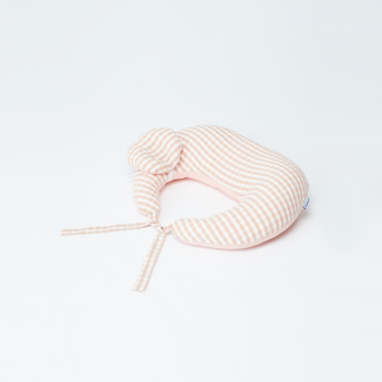 Sunveno Chequered Feeding and Maternity Pillow