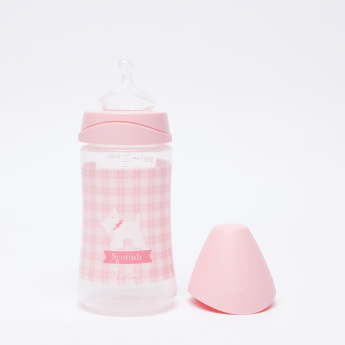 Suavinex Printed Feeding Bottle - 270 ml