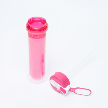 Juniors Textured Double Wall Water Bottle with Spout - 550 ml