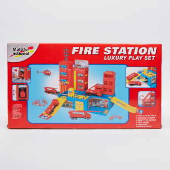 Fire Station Luxury Playset