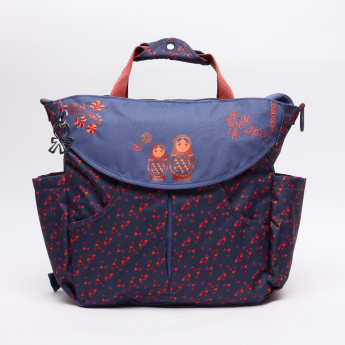 Okiedog Printed Diaper Bag with2 Pouches