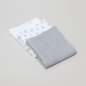 Lulujo Receiving Blanket - Set of 3