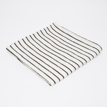 lulujo Striped Swaddle Blanket