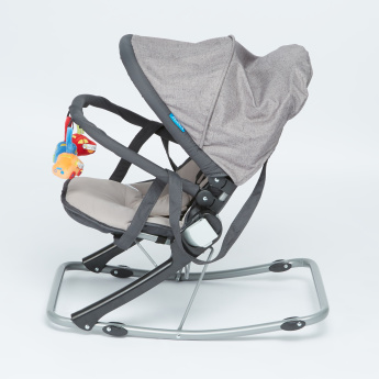 Juniors Volcano Baby Rocker with Toy Bar