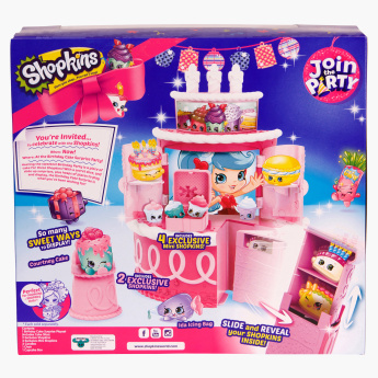 Shopkins Birthday Cake Playset
