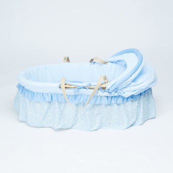 Juniors Printed Moses Basket