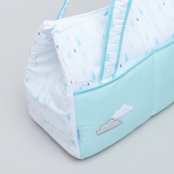 Juniors Applique Detail Diaper Bag