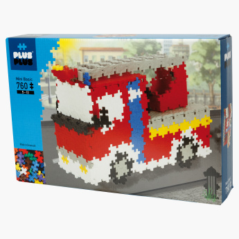 Plus-Plus Mini Basic 760-Piece Fire Brigade Blocks Playset