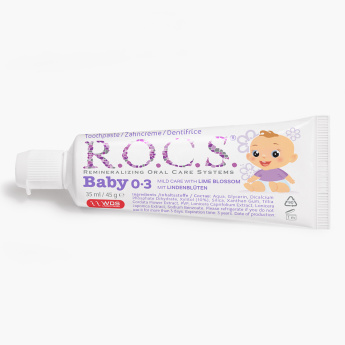 R.O.C.S Baby Toothpaste with Lime Blossom