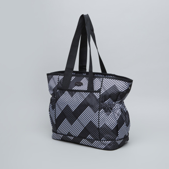 Juniors Chevron Printed Diaper Bag