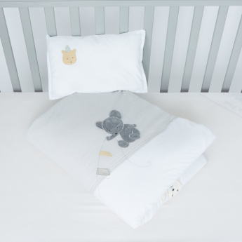 Juniors Applique Detail 2-Piece Comforter Set