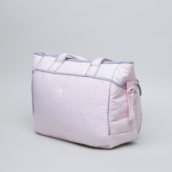 Juniors Bunny Printed Diaper Bag