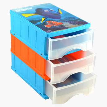 Keeper Finding Dory Printed Drawer Box - Set of 3