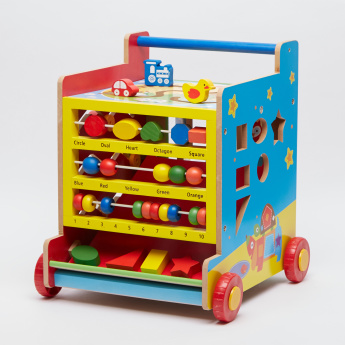 Juniors 8-in-1 Activity Learning Cart