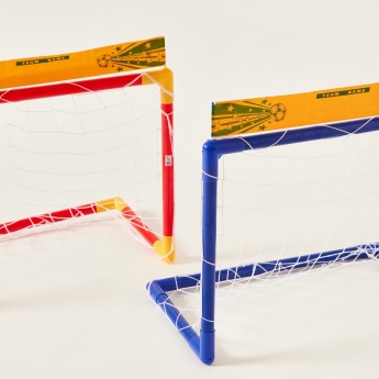 Football Soccer Goal Post Playset