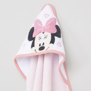 Minnie Mouse Detail Towel with Hood