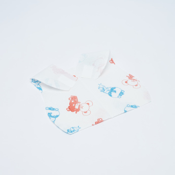 Chicco Printed Disposable Bib - Set of 40