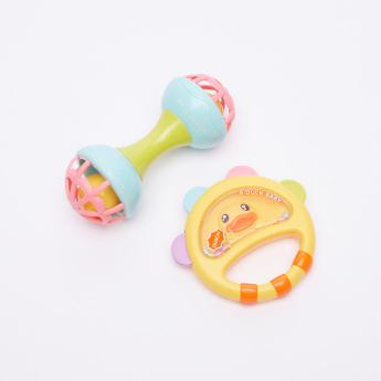 Hand Ball and Rattle Toy Set