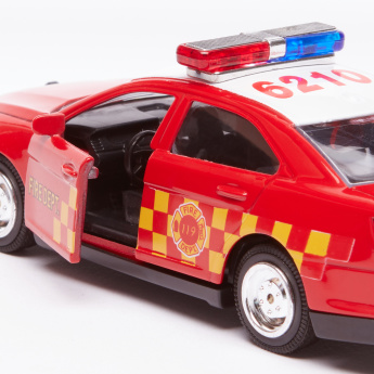 Sedan Die Cast Toy Car with Sound and Light