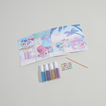 Shimmer and Shine Glitter Cards Set