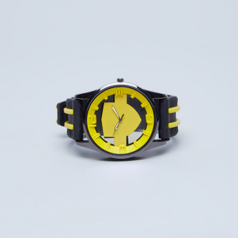 Juniors Wristwatch with Textured Belt